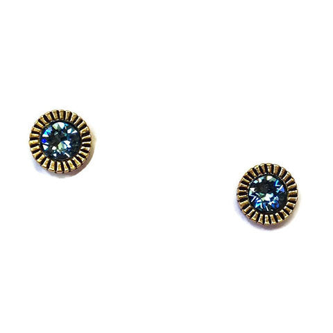 Patricia Locke Jewelry - Uno Earrings in Aqua