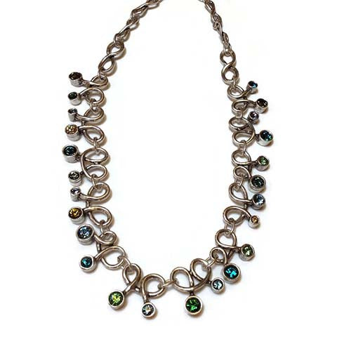 Patricia Locke Jewelry - Love Knots Necklace in Pacific