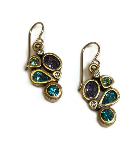 Patricia Locke Jewelry - Margo Earrings in Waterlily