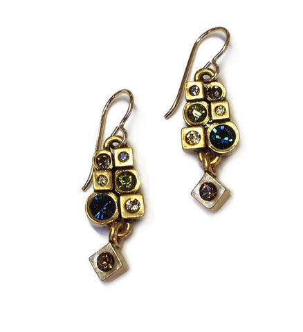 Patricia Locke Jewelry - Ride Share Earrings in Cascade