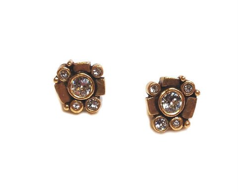 Patricia Locke Jewelry - Rinconada Post Earrings in Crystal