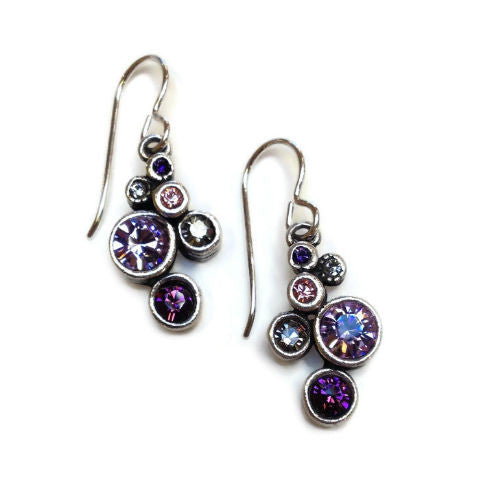 Patricia Locke Jewelry - Splash Earrings in Purple Rain