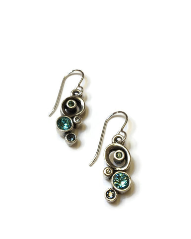 Patricia Locke Jewelry - Tiddlywinks Earrings in Zephyr