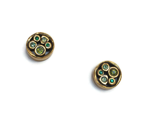 Patricia Locke Jewelry - Tiny Bubbles Post Earrings in Inverness