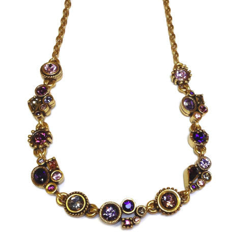 Patricia Locke Jewelry - Petite Necklace in Purple Rain