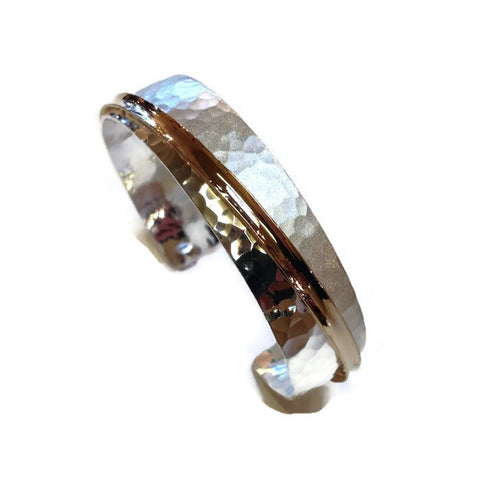 Peter James Design - Mixed Metal Cuff Bracelet
