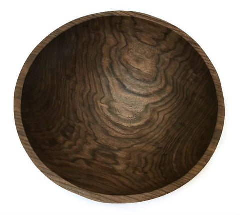 Spencer Peterman - Large Wooden Bowl in Walnut