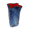 Philabaum Glass - Blue Riverbed Bag Vase