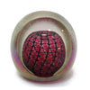 Philabaum Glass - Reptilian Paperweight in Ruby