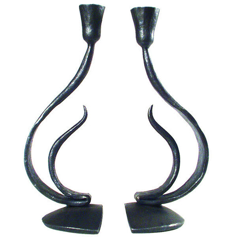 Blackthorne Forge -  Recurve Candle Holders