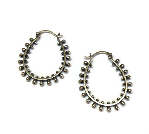 Sasha Bell Jewelry - Large Ultra Hoop Earrings