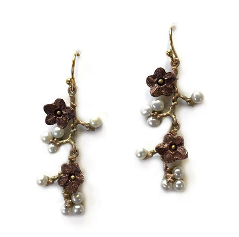 Silver Seasons by Michael Michaud - Ume Earrings