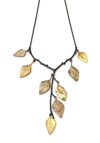 Silver Seasons by Michael Michaud - Autumn Birch Necklace