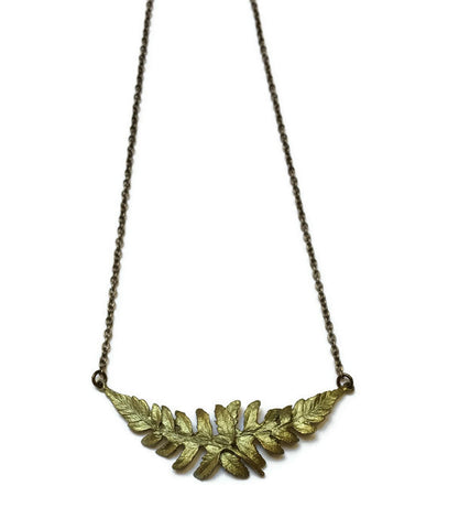 Silver Seasons by Michael Michaud - Petite Fern Necklace