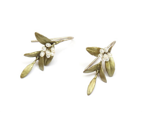 Silver Seasons by Michael Michaud - Flowering Myrtle Earrings