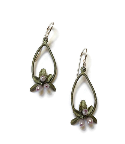 Michael Michaud - Flowering Thyme Oval Earrings