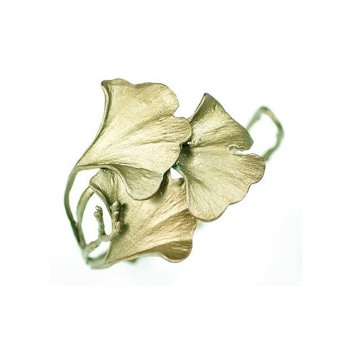 Silver Seasons - Michael Michaud - Gingko Cuff Bracelet