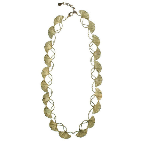 Silver Seasons - Michael Michaud - Ginkgo Necklace