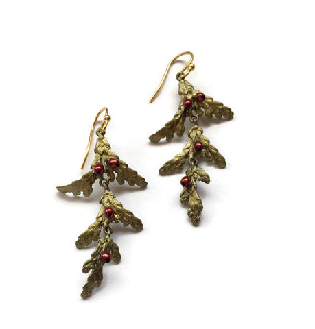 Copy of Michael Michaud - Holiday Arbor Earrings