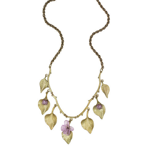 Silver Seasons by Michael Michaud - Lilac Necklace