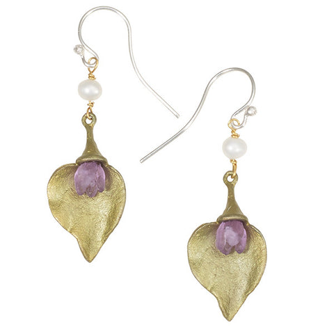 Silver Seasons by Michael Michaud - Lilac Bud Earrings
