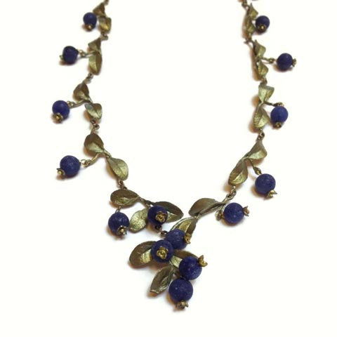 Silver Seasons - Michael Michaud - Blueberry Necklace