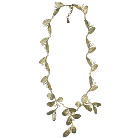 Silver Seasons by Michael Michaud - Boxwood Necklace