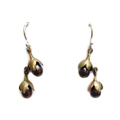 Silver Seasons by Michael Michaud - Cliff Maiden Drop Earring