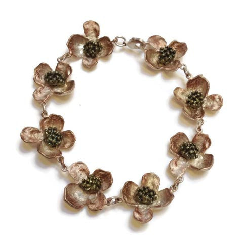 Silver Seasons - Michael Michaud - Dogwood Bracelet