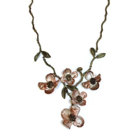 Silver Seasons - Michael Michaud - Dogwood Necklace