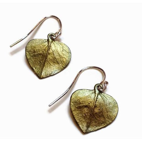 Silver Seasons - Michael Michaud - Eucalyptus Single Leaf Earrings