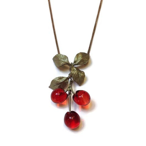 Silver Seasons - Michael Michaud - Morello Cherry Pendant