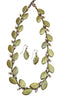 Silver Seasons - Michael Michaud - Myrtle Leaf Necklace