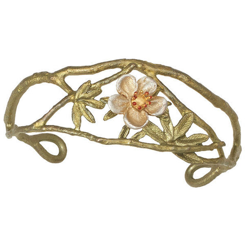 Silver Seasons by Michael Michaud - Tundra Rose Cuff Bracelet