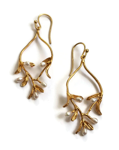 Michael Michaud - Night Willow Earrings