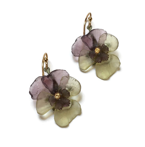 Michael Michaud - Pansy Earrings
