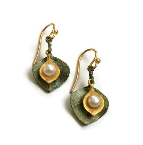 Michael Michaud - Round Eucalyptus Earrings