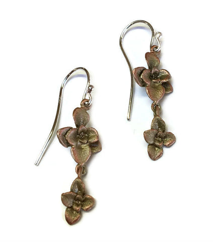 Silver Seasons by Michael Michaud - Succulent Earrings