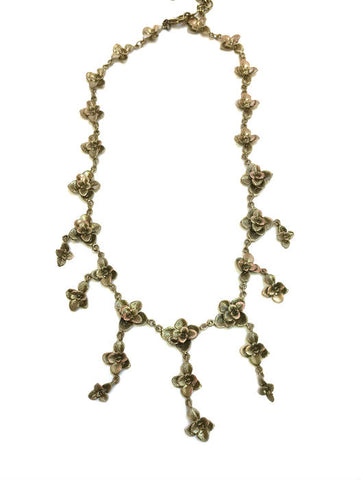 Silver Seasons by Michael Michaud - Succulent Necklace