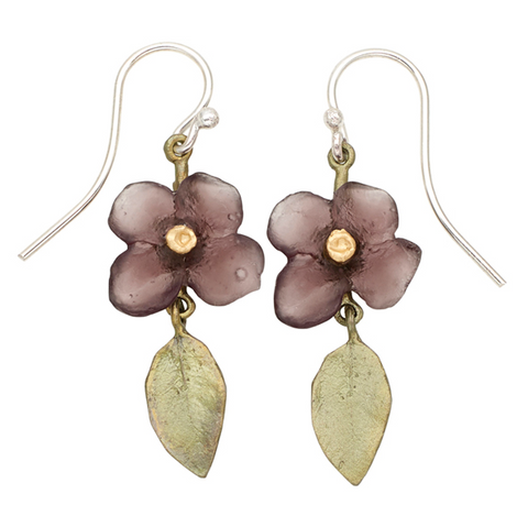 Silver Seasons by Michael Michaud - Wood of Life Earrings