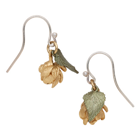 Silver Seasons by Michael Michaud - Hop Cone Earrings