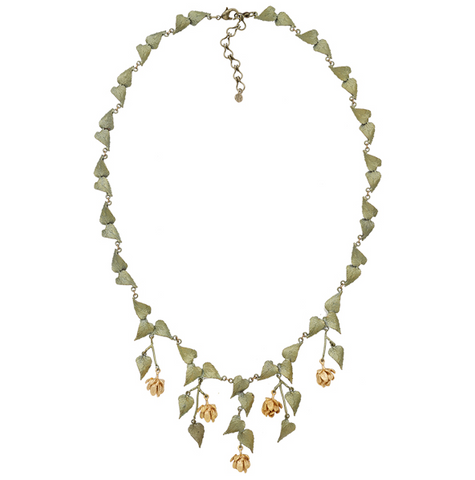 Silver Seasons by Michael Michaud - Hops Necklace