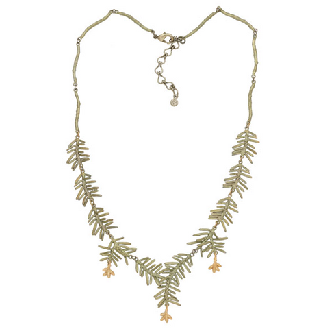 Silver Seasons by Michael Michaud - Petite Pine Necklace