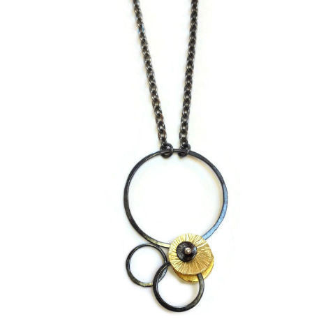 Silver Song Jewelry - Circles Pendant