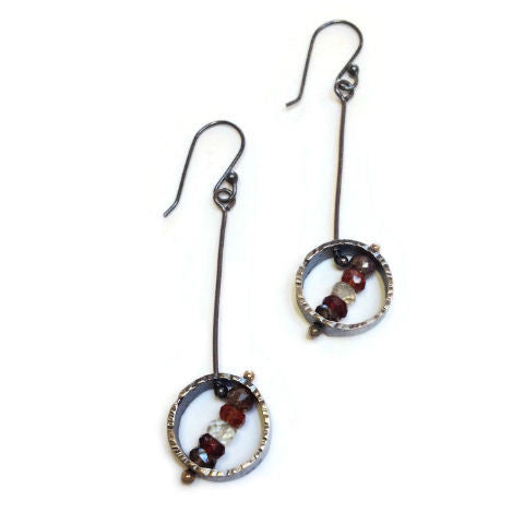 Silver Song Jewelry - Orb Earrings