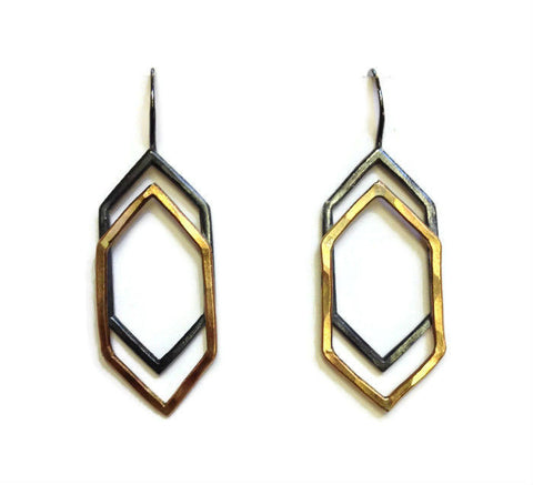 Symbology - Refraction Earrings