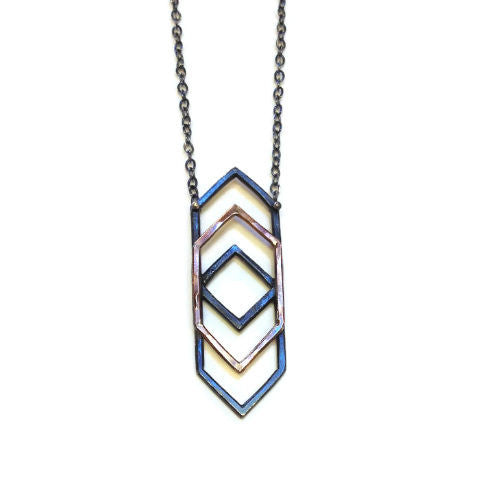 Symbology - Refraction Necklace with Gold