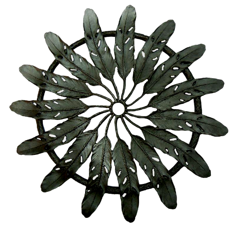 Table Art by Michael Michaud - Feather Trivet