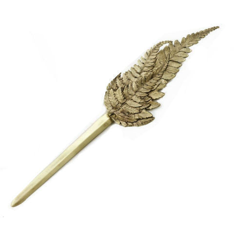 Table Art by Michael Michaud - Fern Letter Opener