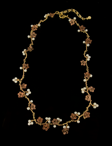 Silver Seasons by Michael Michaud - Ume Necklace